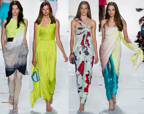 indian inspired fashion trends runway spring 2013