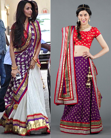 get the bollywood look fall 2012