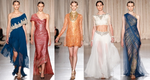 runway fashion trends spring 2013