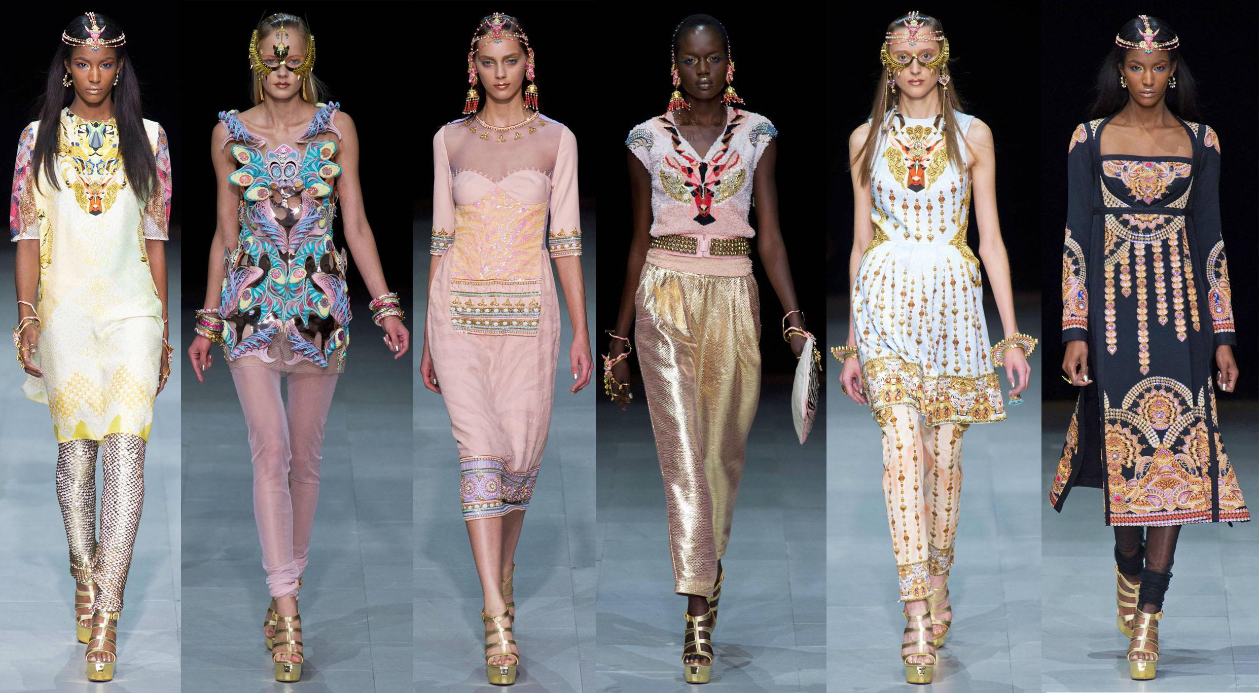 Paris Fashion Week Manish Arora Amrapali S Bold Jewelry Collaboration The Luxe Report