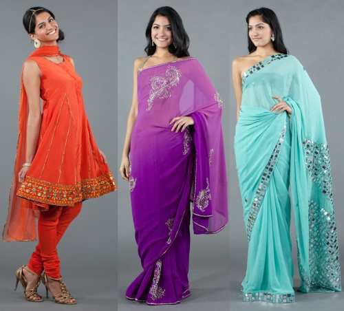 saree sari salwar indian clothing designer trends 2012 2013