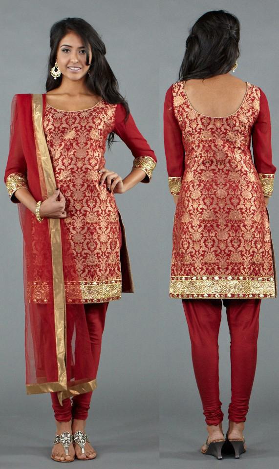 Brocade Fashion Trend 2012 2013 Runway Designer Indian Salwars The Luxe Report