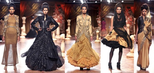 best indian designer fashion collections 2012 2013
