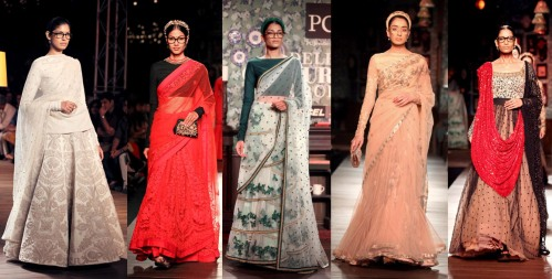 best indian fashion collections retro 1920s bow