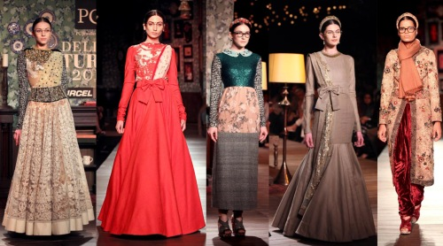 best indian fashion collections of the year 2013 bow details hipster