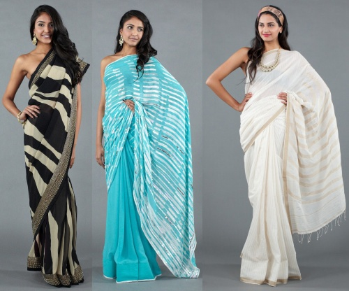 indian saree fashion trends 2013