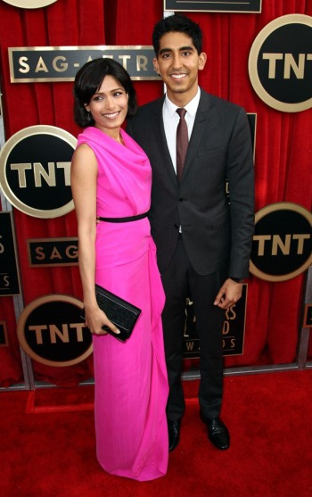 freida pinto and boyfriend red carpet photos