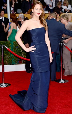 dior at 2013 sag awards