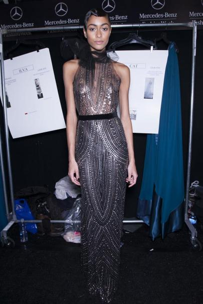 behind the scenes photos naeem khan new york fashion week 2013