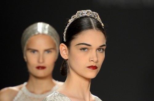 naeem khan fall 2013 beauty looks