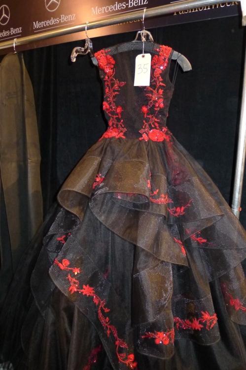 Reem Acra NYFW 2013 dress