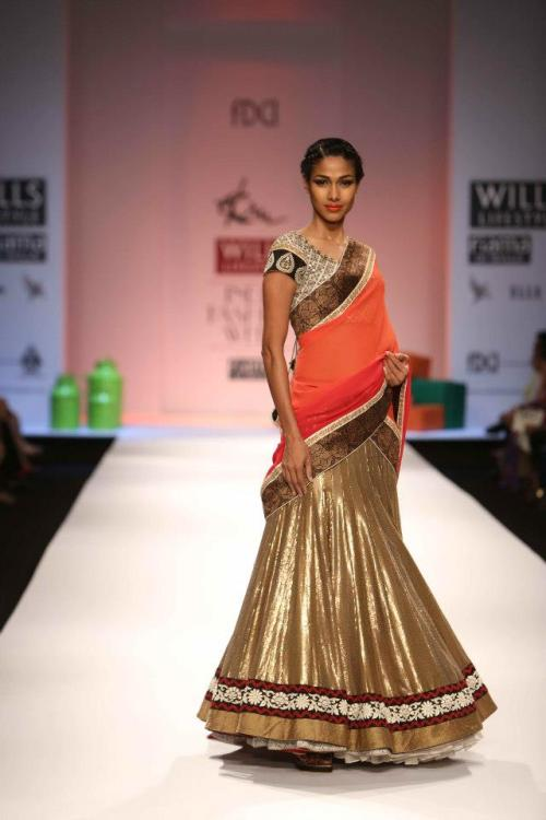 Ekru by Ekta and Ruchira, FW 2013, Wills India Fashion week 2013