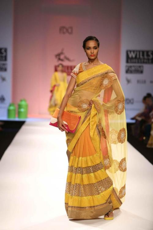 Ekru by Ekta and Ruchira, Wills India fashion week 2013
