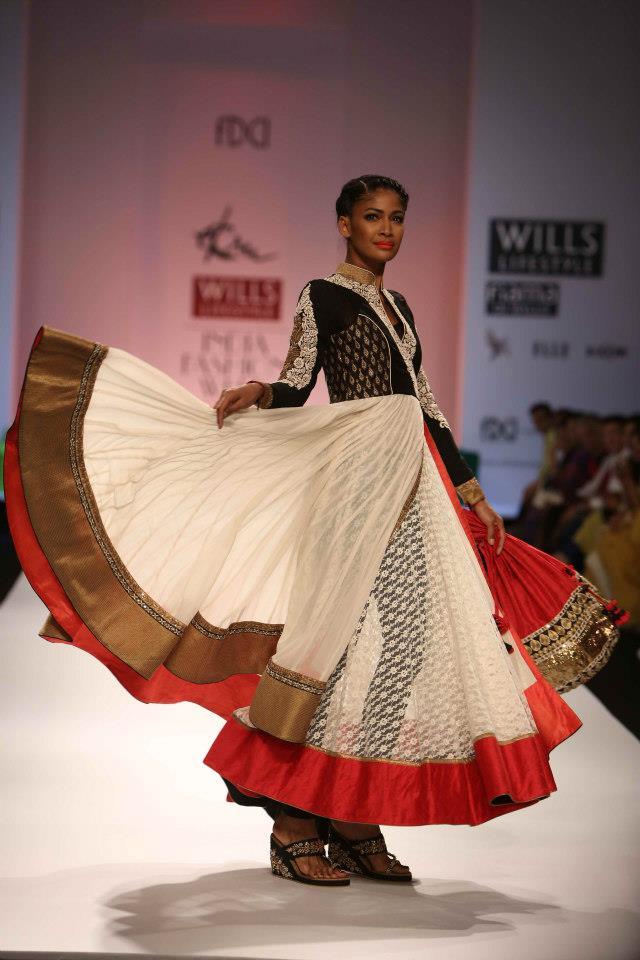 Ekru by ekta ruchira fall winter 2013 collection wills lifestyle india fashion week 2013 Wills lifestyle fashion week