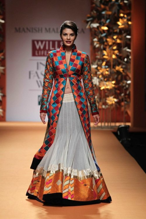 Manish Malhotra FW 2013 collection, Phulkari