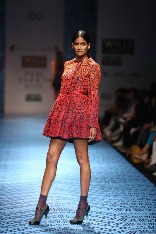 Pankaj & Nidhi FW 2013 Wills India Fashion Week 3