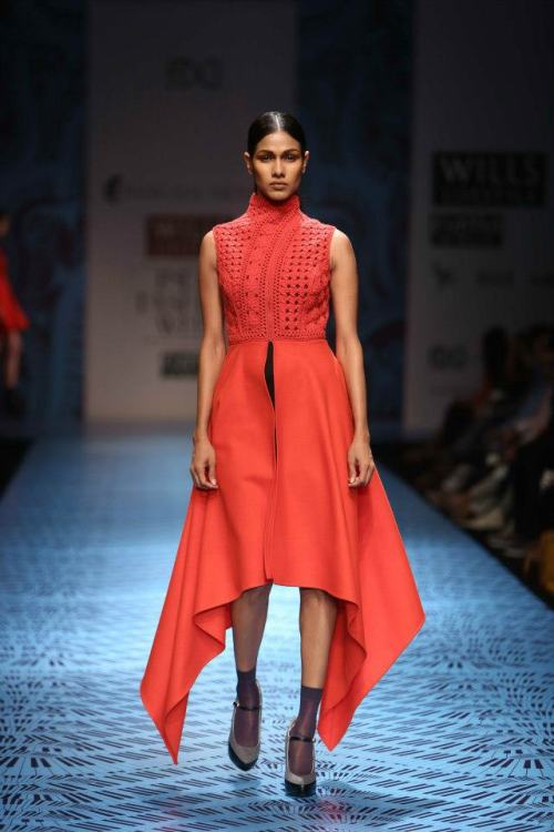 Pankaj & Nidhi FW 2013 Wills India Fashion Week 4