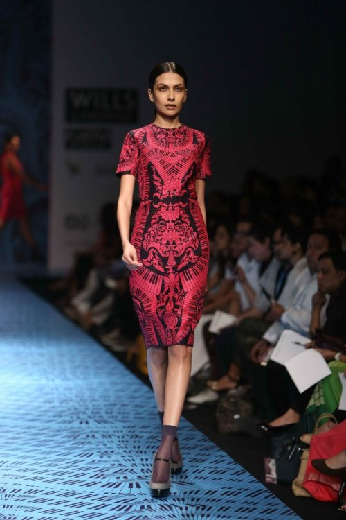 Pankaj & Nidhi FW 2013 Wills India Fashion Week