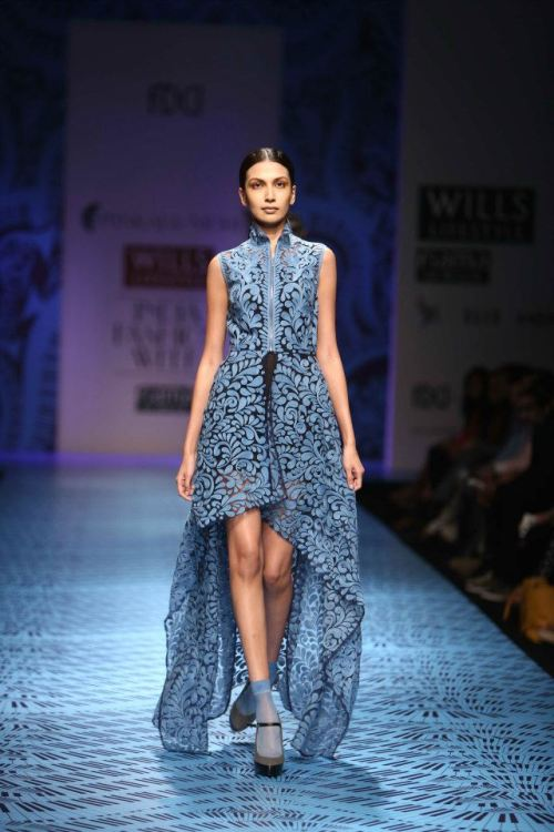 Pankaj & Nidhi FW 6 2013 Wills India Fashion weekjpg