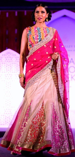 Jyotsna Tiwari lehenga at India Bridal Fashion Week 2013