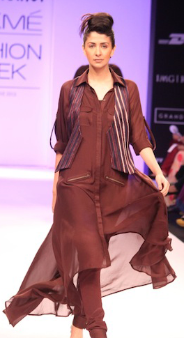 Nupur Kanoi at LFW WF 2013
