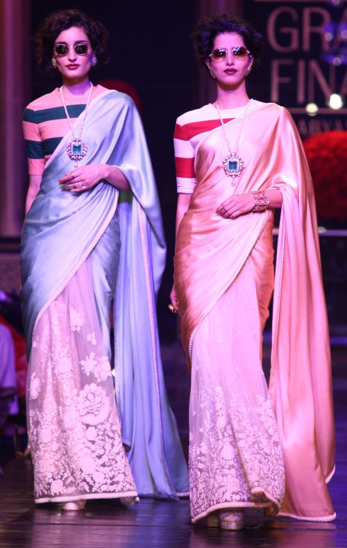 sabyasachi at lfw aw 13