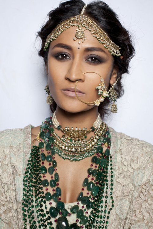 Model at Sabyasachi, Delhi Couture Week