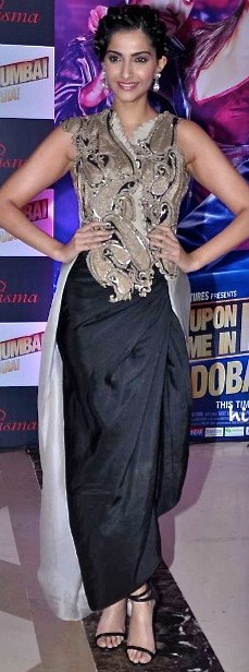 Sonam Kapoor in a beautiful Anamika Khanna