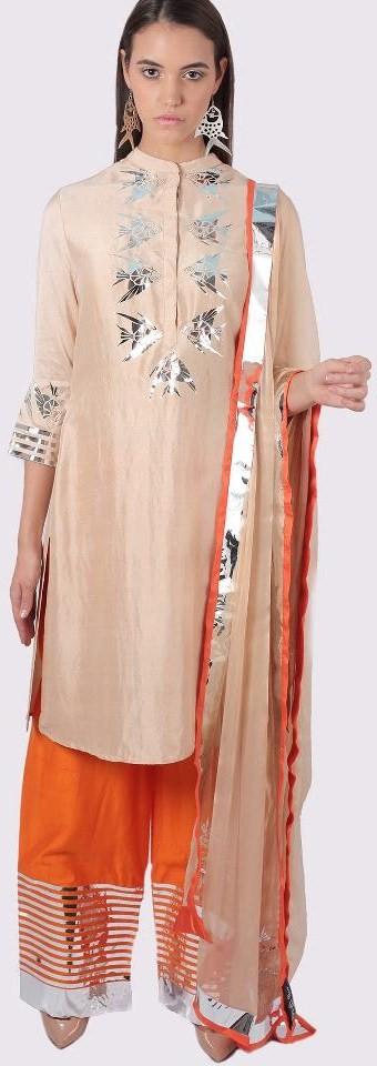 Sharara pants from Surendri by Yogesh Choudhary's Summer/Resort 2013 collection