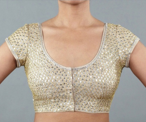 Saree blouse by Wild Orchid