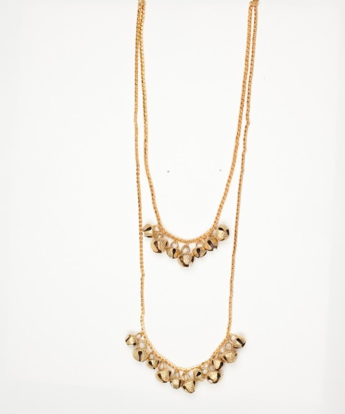 Layered gungaroo necklace from Luxemi