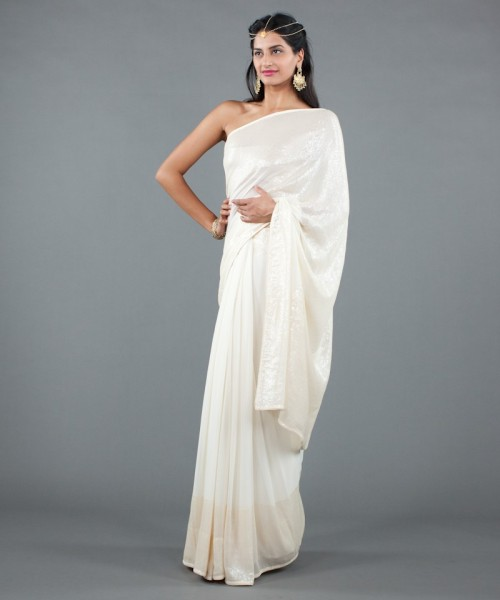 luxemi-cream-georgette-saree-1