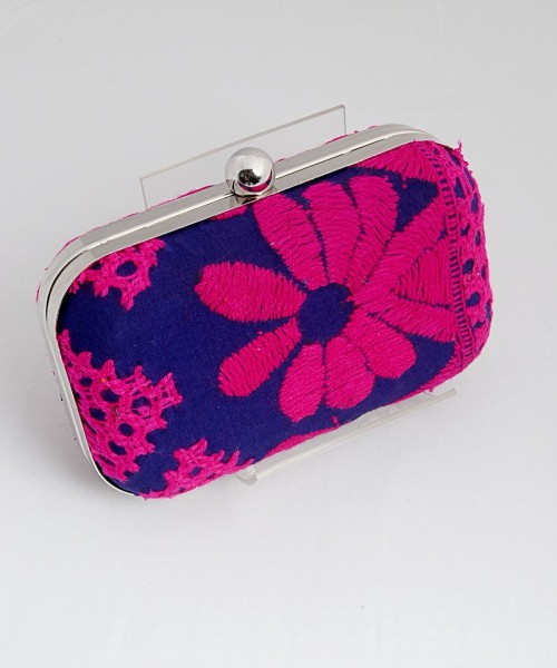 Embroidered clutch bu 5 Elements Radhika Gupta