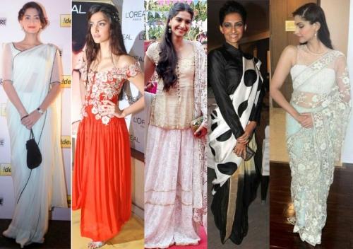 Sonam Kapoor pulls off all looks