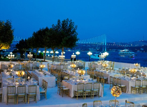 Wedding at Ciragan Palace