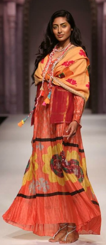 anupama dayal at WIFW SS14