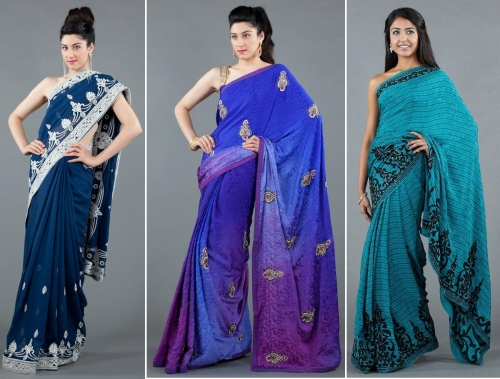Luxemi's blue indian wear