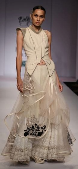 Dolly J at WIFW SS '14