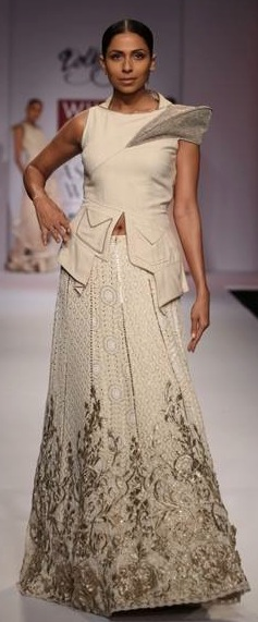 dolly j at WIFW SS14