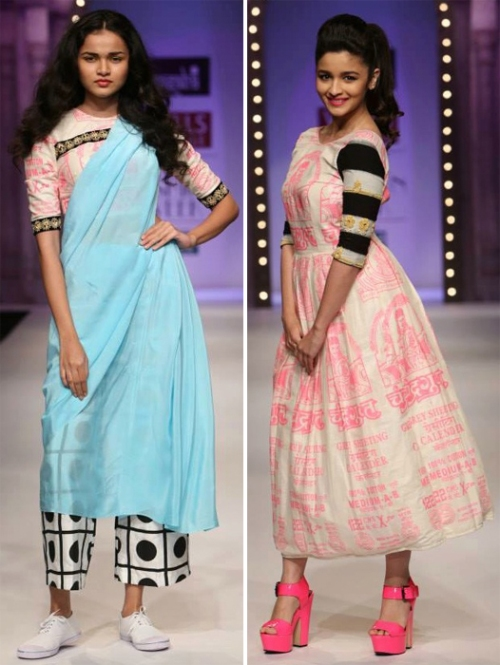 masaba's WIFW SS14 collection