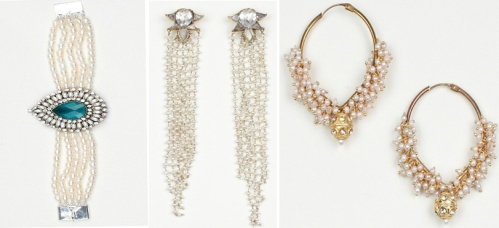 Pearl jewelry on Luxemi