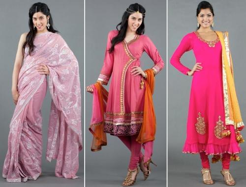 luxemi's pink ensembles