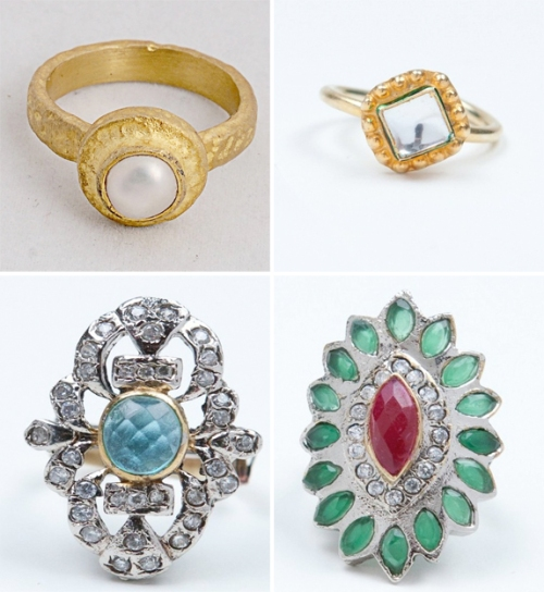 Luxemi's statement rings