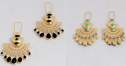 Amrapali earrings on Luxemi
