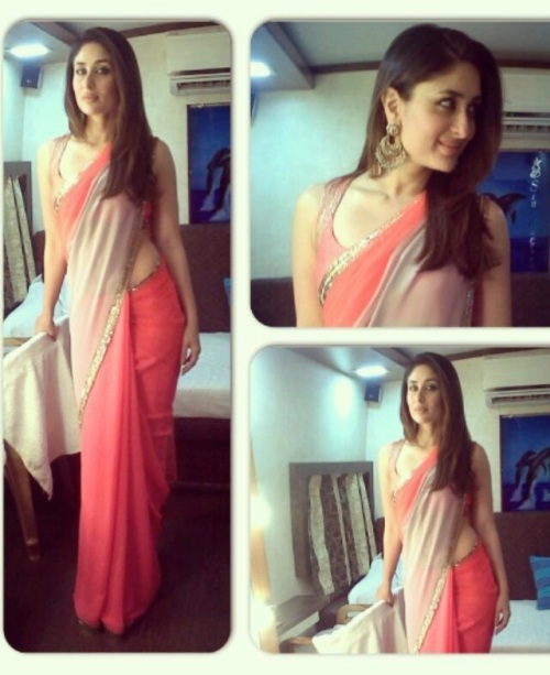 Kareena Kapoor in a saree