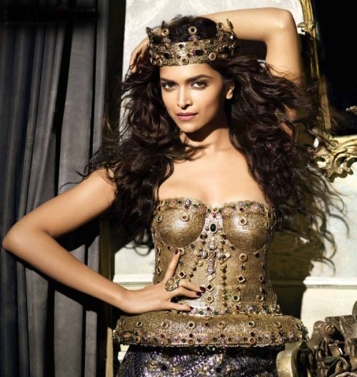 Deepika Padukone in Vogue September 2013 issue