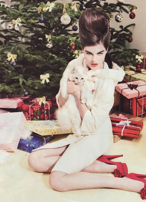 Holiday shoot French Vogue