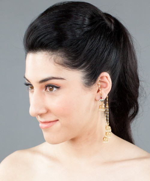 Wrap around earrings