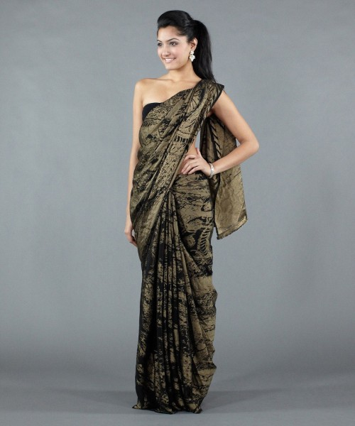 Satya Paul silk saree