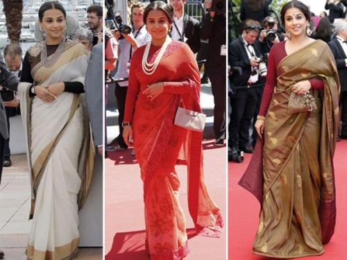 Vidya Balan at Cannes